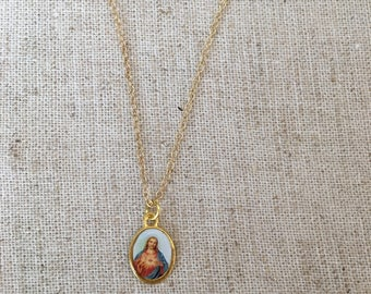 Saint Gold Filled Necklace
