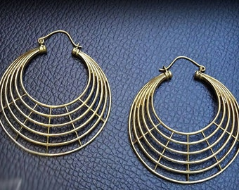 Gorgeous 925 sterling silver spider web earrings