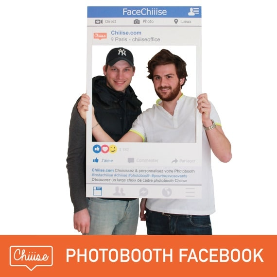 cadre photobooth facebook. Black Bedroom Furniture Sets. Home Design Ideas