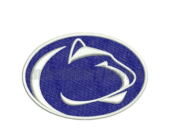 Football embroidery design - (Penn State Nittany Lions) - instant DOWNLOAD digital file