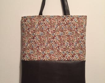 Flowers Shopper/ Tote/ Bag