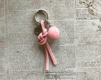 Mini Keychain - Pink