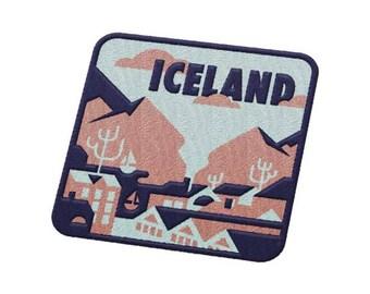 Reykjavik, Iceland Travel Patch