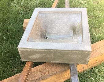 Wadi Grey Concrete Sink 50% off
