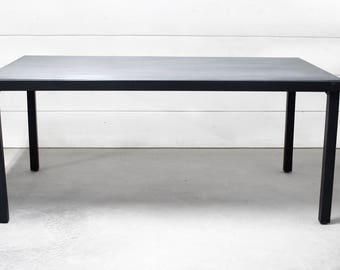 Zinc Top Dining Table, Outdoor Table, Industrial Zinc Dining Table, Kitchen Table, Patio Furniture, Outdoor Table, Zinc Patina - FREE Ship