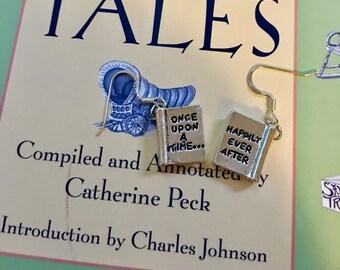 Telling Tales earrings