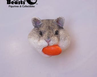 Hamster-Funny Animal Face Magnets