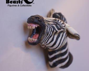 Zebra-Funny Animal Face Magnets