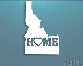 Idaho Decal - PICK COLOR and SIZE - Idaho Home Decal - Id Decal - Id sticker - Idaho Car Decal - Idaho sticker - Idaho car sticker