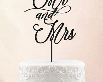 Personalized Wedding Cake Topper Customized Cake Topper With Mr Mrs Personalized Cake Topper Wedding Cake Toppers 51