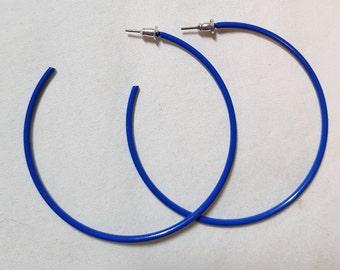 Festival style open hoop earrings