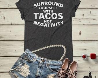 Tacos shirt, funny shirts, tacos lover shirt, foodie gifts, tacos tank, mexican food, tacos print, food tshirt, brunch shirt, tequila