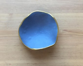 Clay dish.