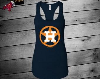 Astros Shirt, Houston Astros, Astros Shirts For Women, Astros Tank, Houston Baseball Shirt, Astros Graffiti Tank, Womens Astros, Baseball