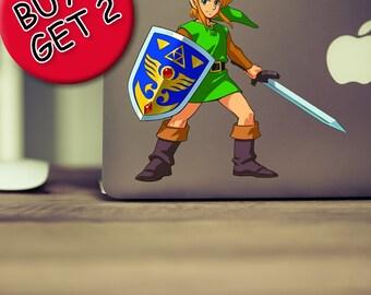 The Legend of Zelda MacBook Decal Zelda Link Nintendo Breath of the wild Zelda Amiibo Ocarina of time Majoras mask