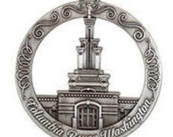 Columbia River Washington LDS Temple Ornament