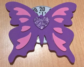 Horary Disk Felt Butterfly Craft Foam