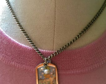 "Tarot necklace ""The Star"""