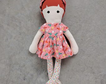 Modern Cloth Doll - Hallee