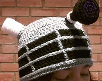 Doctor Who Dalek Beanie [Made to Order]