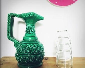 Grand pichet vert - Big Green Pitcher