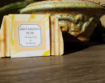 Lemon Frankincense Soap