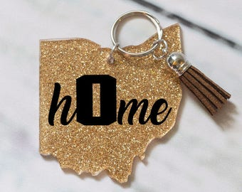 Personalized Keychains with Tassels