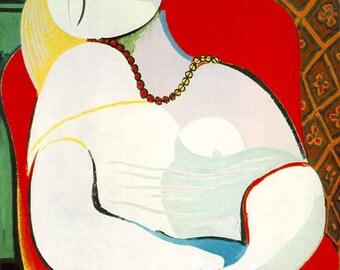 Pablo Picasso le reve print