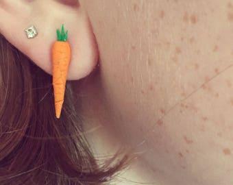 Carrot Stud Earrings