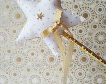Wand Fairy * Gold and glitter *.