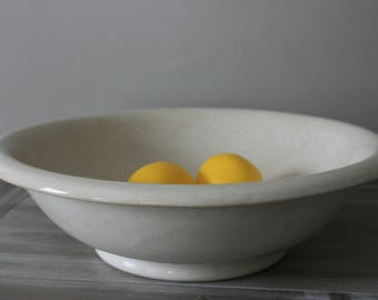 Ironstone Basin / Ironstone Bowl / English Ironstone / Vintage Ironstone