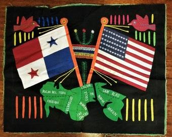 Mola Art - Flags