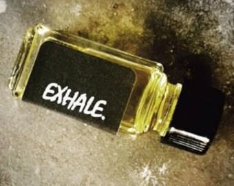 EXHALE.    Botanical Perfume Oil | Vintage Patchouli | Lavendar | Lemongrass | Citrus