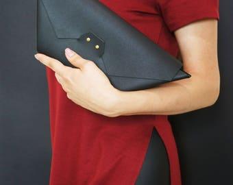 Leather Clutch Boto kuratchi