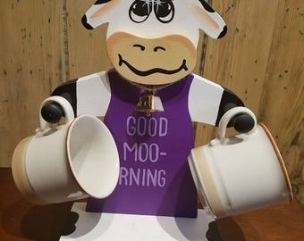 Bessie Cow Cup Holder