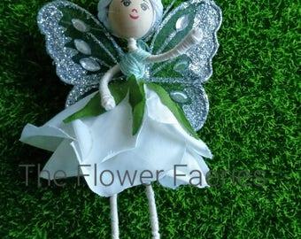 Flower Fairy - Sparkly White