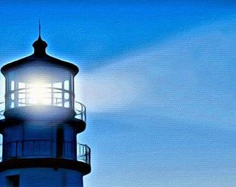 Evening Light (Artisan-Quality Canvas Print)