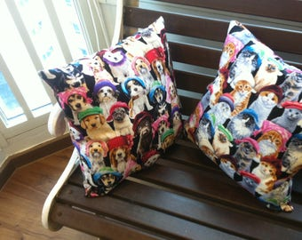Raining Disappointed Cats and Dogs  (Cushions to accentuate your nightmares & dreamscapes).