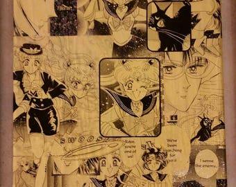 Sailor Moon Manga Collage (Sparkles)