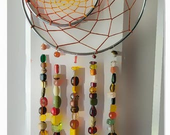 Fall Double Ring Dreamcatcher