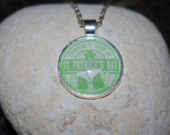 Everyone is Irish on St. Patrick's Day Pendant Necklace - Cheers