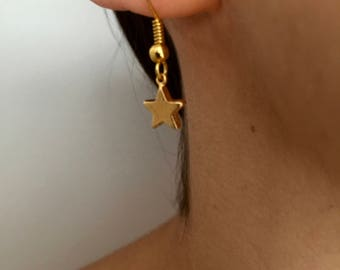 Earrings * star *.