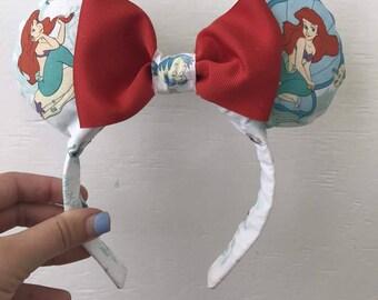 Little Mermaid Minnie Ears