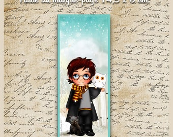 NEW! heat - laminated bookmark size: 6 cm x 14.5 cm