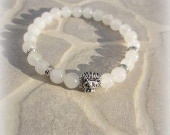 Jade Beads Bangle men