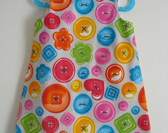 "Very cute dress ""My big buttons"" T 2 years"