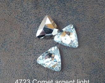 1 cabochon Crystal Austrian vintage 4723, 2 designs