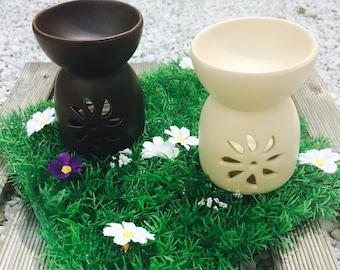 Brown ceramic burner