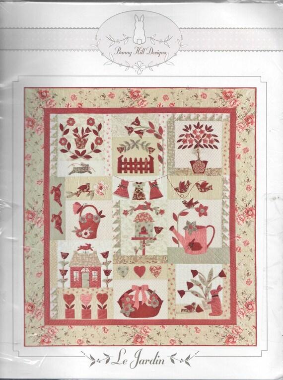 Bunny Hill designs Le Jardin quilt pattern. from ... : le jardin quilt pattern - Adamdwight.com