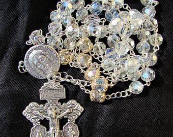 Crystal Rosary 8mm